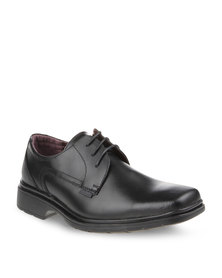 Bronx Slot Lace-Up Shoes Black