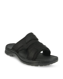 Bronx Men Clifton Casual Sandals Black