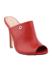 Bronx Women Caprice High Heels Red