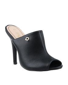 Bronx Women Caprice High Heels Black