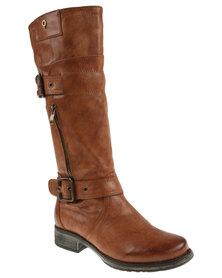 Bronx Ria Boots Choc