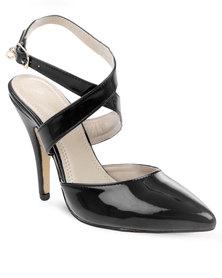Bronx Brandy Heels Black