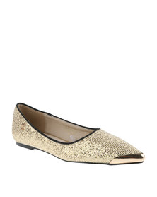 Bronx Women Mariana Pumps Gold