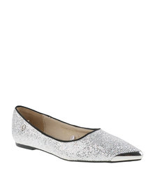 Bronx Women Mariana Pumps Silver