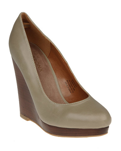 Bronx Linda Wedges Grey