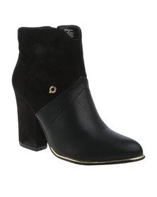 Bronx Jada Boots Black