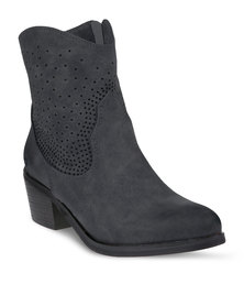 Bronx Charmaine Boots Black