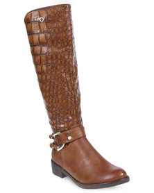 Bronx Women Candice Boots Tan