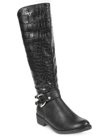 Bronx Women Candice Boots Black