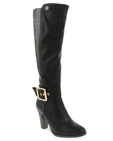 Bronx Women Noelle Boots Black