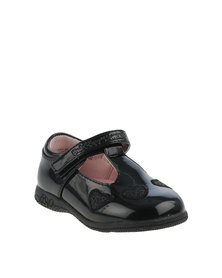 Bubblegummers T-Bar Shoes Black