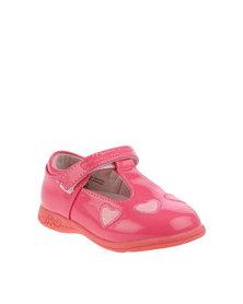 Bubblegummers T-Bar Shoes Pink