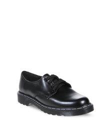 School Shoes, Liberty Black Velcro Gola Shoes (Black