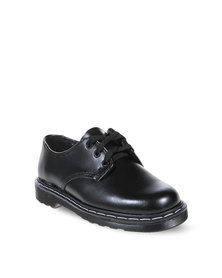 Buccaneer Scooter School Shoes Black