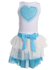 Bugsy Boo Heart Tulles Set Blue