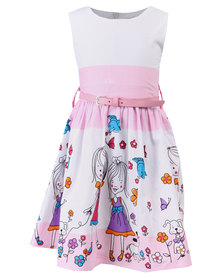 Bugsy Boo Princess Dress Pink