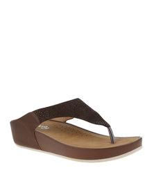 Butterfly Feet Dreamy Sandal Brown