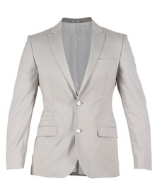 CSquared Suit Jacket Light Grey