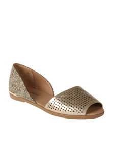 Call It Spring Corboy Flat Gold
