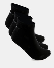 Cameo Comfort Hidden Socks Black