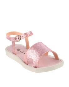 Candy Glitter Jelly Sandal Pink