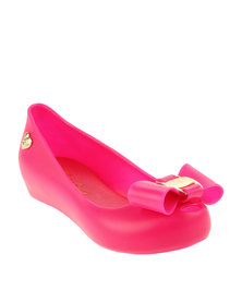 Candy Peeptoe Jelly Pump Pink