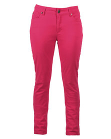 Canterbury Skinny Jeans Hot Pink