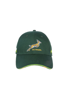 Canterbury Springbok Cotton Drill Cap Green