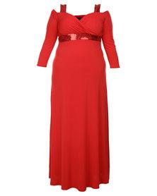 Captive8 Courtney Dress Red