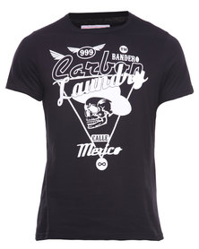 Carbon Laundry Bandero Tee Black