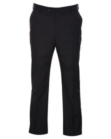 Carducci Regular Fit Trousers Black