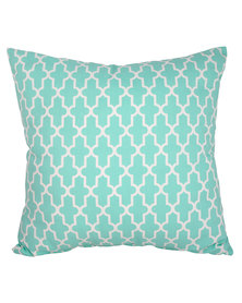 Casa Culture Trellis Cushion Mint
