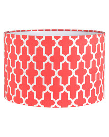 Casa Culture Geometric Lamp Shade Coral