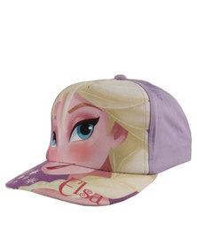 Character Brands Elsa Peak Cap Purple