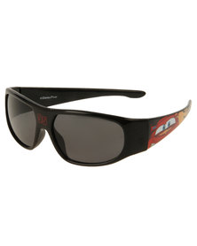 Character Brands Cars Basic Sunglasses Black/Red