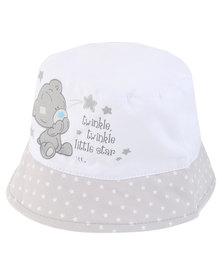 Character Brands Tiny Tatty Teddy Bucket Hat Grey