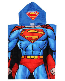 Character Brands Justice League Hooded Towel Multi-coloured