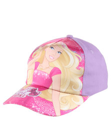 Character Brands Barbie Peak Cap Pink