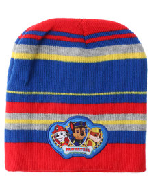 Character Brands Paw Patrol Basic Beanie Red/Grey/Blue