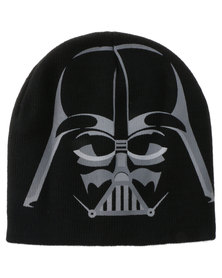 Character Brands Darth Vader Basic Beanies Black
