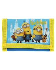 Character Brands Minions Wallet Yellow