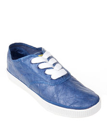 Civic Duty Exhiliration Sneakers Navy Blue