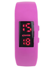 Civvio Plasma Watch Pink