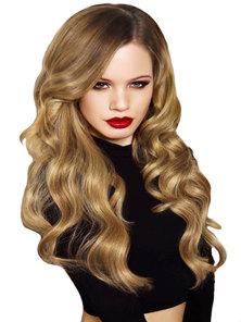 Clipinhair Caramel Blonde 50cm Wavy Hair Extensions