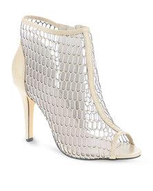 CM Paris Mesh Heel Boots Beige