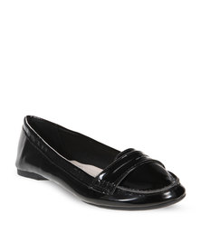 CM Paris Patent Loafers Black