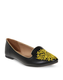 CM PARIS Slipper Pumps Black