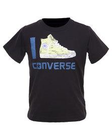 Converse Icon Tee Black