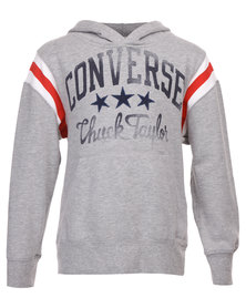 Converse Chuck Taylor Pullover Sweater Grey