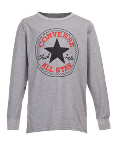 Converse LS Chuck Patch Tee Grey